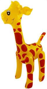 Inflatable Giraffe - 59cm - Pinata Jungle Loot/Party Bag Fillers Wedding/Kids