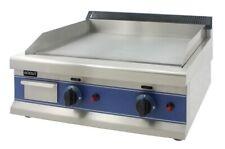RODUT LPG Chrome Gas Griddle 60cm Catering Hotplate Plancha