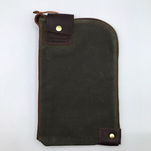 Red Wing Shoes Small Weekender Gear Pouch Olive 95063 Canvas/Leather Bag Briar
