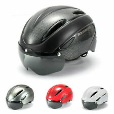 RockBros Bicycle Helmet MTB Road Bike PC Riding Helmet with Goggle 57-62cm