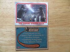 2004 TOPPS STAR WARS HERITAGE THE EMPIRE STRIKES BACK PROMO CARD P5