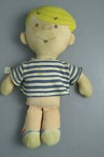 ( Dennis the Menace rag doll vintage -cloth body with shirt