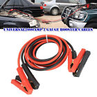 Pure Copper 2000amp 2 Gauge Booster Cables 3m Power Start Jumper Heavy Duty Car