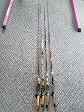 Vtg Heddon Pal 6803 Mark Ii 6', Garcia Conolon medium action fish rods Lot of 4