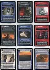 Star Wars CCG Enhanced Cloud City Complete 12 Card Set