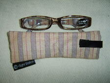 """Sight Station""""Ranger""""By Foster Grant Unisex Fashion Reading Glasses&Case"""