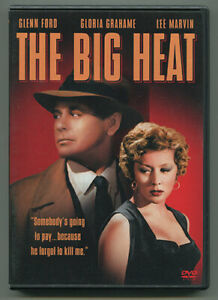 THE BIG HEAT Glenn Ford DVD Gloria Grahame Film Noir Classic