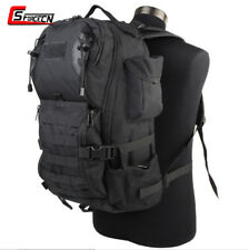 35L Molle Outdoor Backpack Rucksack Laptop Bag Tactical Military Paintball Black