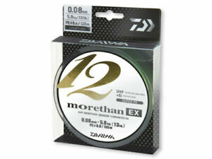 DAIWA MORETHAN 12 BRAID EX+SI 135m/150yd Lime Green