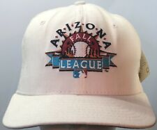 Vintage Arizona Fall League Hat Cat Strap Adjustable New Era DuPont Visor