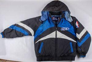 Vintage 1980s/90s Pro Player Orlando Magic NBA Puffer Zip-Up Jacket Size MD/LRG