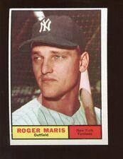 1961 Topps Baseball Card #2 Roger Maris New York Yankees NRMT