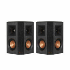 Klipsch RP-402S SURROUND SPEAKERS Ebony Black {PAIR} B-stock