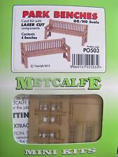 Metcalfe Mini Kit PO503. Park Benches. OO Gauge