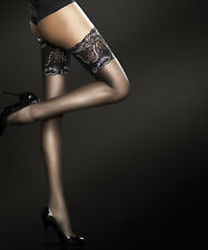 Bas de nylon sexy autofixant à jarretière dentelle référence Sandrine de Fiore
