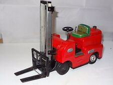 *(SH) Modern Toys Japan TINPLATE FORK LIFT TRUCK LITHOGRAPHED 1960's - S 1002