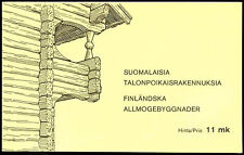 Finland 1979 SG#SB14 Peasant Architecture Stamp Booklet MNH #C21639