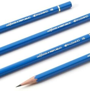 Palomino CALIFORNIA REPUBLIC Graphite Pencils-HB Blue- 12 Pencils-New-LOOSE