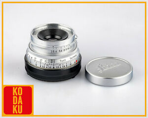 Leitz Leica SUMMARON M 35mm F/3.5 35/3.5 E39 Lens Yr.1954 Germany SOONC-M Caps