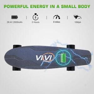 Elektrisches Skateboard 10MPH Höchstgeschwindigkeit 350W  mit Fernbedienung