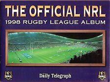 1998 RUGBY LEAGUE ALBUM AND TEAM PHOTOS