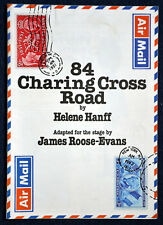 1981   84 CHARING CROSS ROAD Theatre Programme DOREEN MANTLE   RONNIE STEVENS
