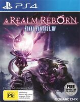 Final Fantasy XIV Online: A Realm Reborn *FREE Next Day Post from Sydney* PS4