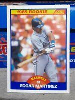 1989 Score Edgar Martinez #637 PSA 10 Mint RC RookieMariners HOF~(LN)