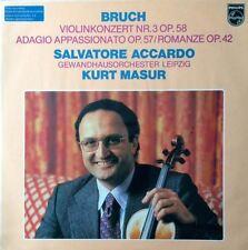 Bruch: Violin Concerto No 3 / Adagio Appassionato / Romance : Kurt Masur