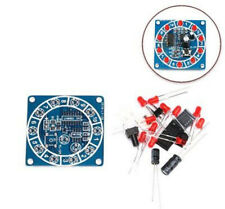 Round Electronic Lucky Rotary Cd4017 Ne555 Led Light Parts and Components