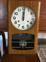 Vintage Seiko 31 Day Chiming Wind up Wall Clock