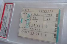LED ZEPPELIN Original__1973__CONCERT TICKET STUB__PSA__Los Angeles Forum__EX/EX+