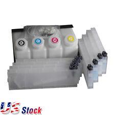 US Stock Roland Mimaki Mutoh Printer Bulk Ink System--4 Bottles, 8 Cartridges