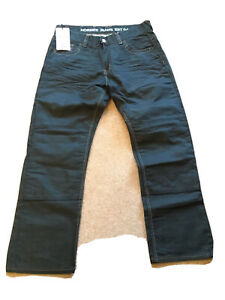 Hornee motorcycle jeans Made With Kevlar Size 34 Short Leg.