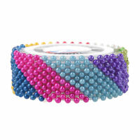 480pzs colores surtidos 37mm longitud Decoraciones alfileres de bola T2V8