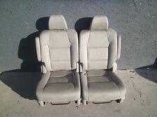 new takeouts 2 BUCKET SEATS TAN BEIGE CLOTH truck hotrod rv bus
