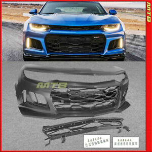 ZL1 Style Conversion Front Bumper Kit with Grille 16-18 Chevy Camaro RS LT SS LS