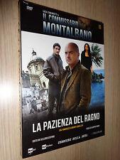 DVD N°10 COMMISSARIO MONTALBANO ZINGARETTI CAMILLERI LA PAZIENZA DEL RAGNO