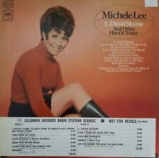 Michele Lee L. David Sloane and Other Hits of Today Record RADIO STATION LP VG+