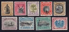 NORTH BORNEO 1894 1c-24c MH perf unchecked Isc#61-69 9v set =THIN on 1c @K162