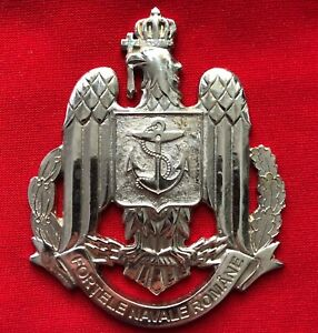 Romanian Navy Headquarter sign - 9 cm