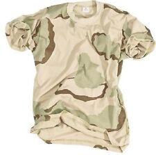 US 3 color Desert Army camouflage short sleeve tarnshirt t shirt  M / Medium