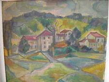Peintures du XXe siècle et contemporaines encadrés paysage pour Fauvisme