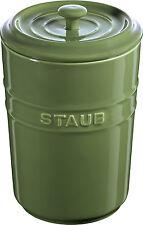 Staub Keramik Vorratsdose Frischhaltedose Aufbewahrungsbehälter  Basilikum 1,5 L