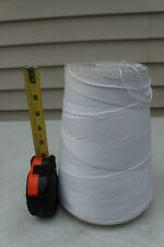 4.4 LB Spool Cone of 8 Ply 20lb Twine String Kitchen Crafts Sewing Cord Rope