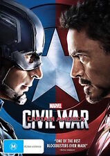 Captain America - CIVIL WAR : NEW DVD