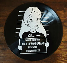 Deko-LP -  Alice in Wonderland - Wandbild Vinyl Home Deko