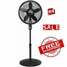 """FAN CYCLONE STAND PEDESTAL Remote Control Floor Electric Oscillating 3 Speed 18"""""""