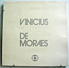 VINICIUS DE MORAES Marcus Vinicius Da Cruz De Mello Morais PROMO ONLY EDU LOBO