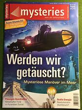 mysteries August 2015 WERDEN WIR GETÄUSCHT?